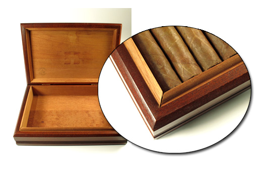 turning a cigar box into a humidor 2