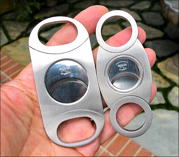 Cigar cutters compared