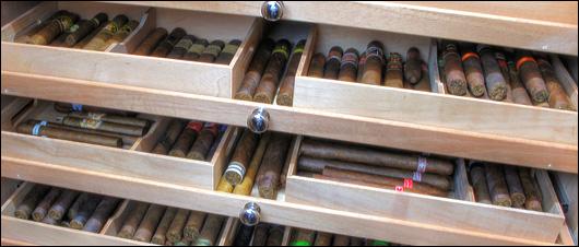 cigar closet