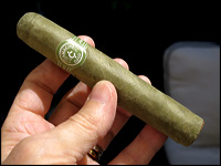 Kermit the Frog would love this cigar!