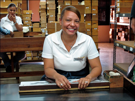 Cigar factory worker.