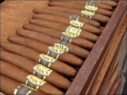 Nat Sherman Timeless cigars.