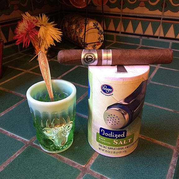 Salt water and Cigar